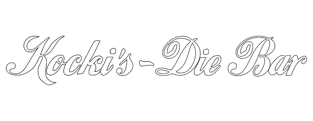 Kockis Die Bar Logo
